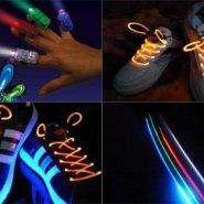 af6ec82093d LED sõrmetuled + LED kingapaelad vaid 7.50€. Soodustus - 60% Hea kingitus  jõuludeks!