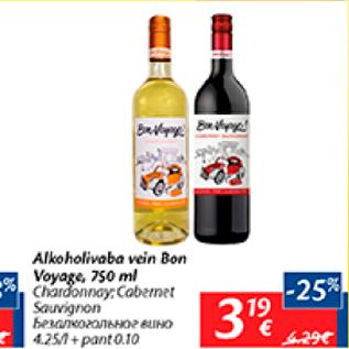 812470b4b59 Alkoholivaba vein Bon Voyage, 750 ml - Allahindlus - Maxima ...