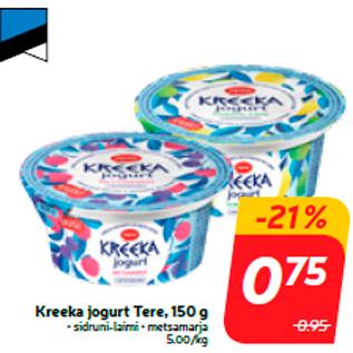Allahindlus - Kreeka jogurt Tere, 150 g