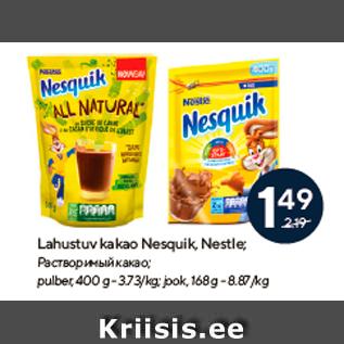Allahindlus - Lahustuv kakao Nesquik, Nestle
