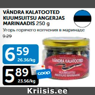 Allahindlus - VÄNDRA KALATOOTED KUUMSUITSU ANGERJAS MARINAADIS 250 g