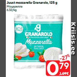 Allahindlus - Juust mozzarella Granarolo, 125 g