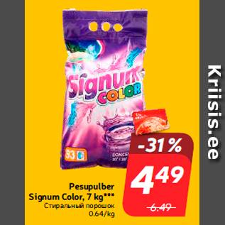 Allahindlus - Pesupulber Signum Color, 7 kg***