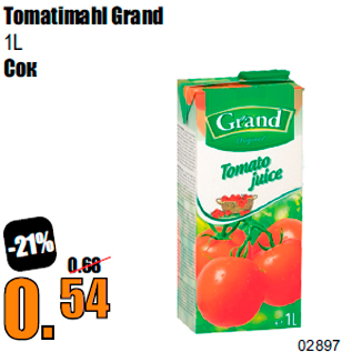 Allahindlus - Tomatimahl Grand 1L