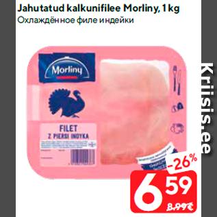 Allahindlus - Jahutatud kalkunifilee Morliny, 1 kg
