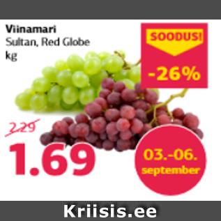 Allahindlus - Viinamari