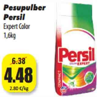 6703b67661b Pesupulber Persil Expert Color 1,6kg - Allahindlus - Grossi ...