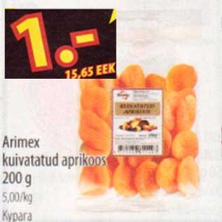 777f5c23e21 Arimex kuivatatud aprikoos - Allahindlus - Selver - Kriisis.ee ...
