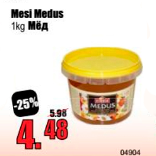 Allahindlus - Mesi Medus 1 kg