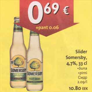 Allahindlus - Siider Somersby