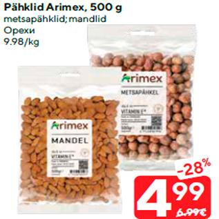 Allahindlus - Pähklid Arimex, 500 g