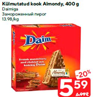 Allahindlus - Külmutatud kook Almondy, 400 g