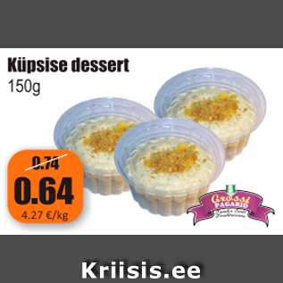 Allahindlus - Küpsise dessert 150 g