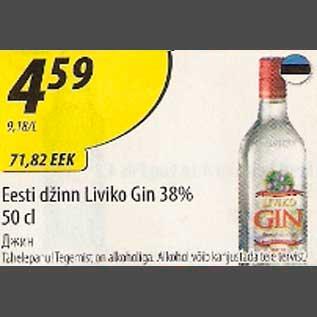 Allahindlus - Eesti džinn Liviko Gin