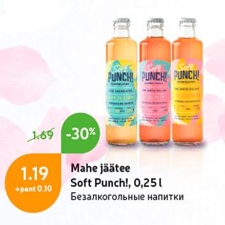 Allahindlus - Mahe jäätee Soft Punch!, 0,25 l