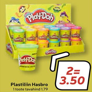 Allahindlus - Plastiliin Hasbro