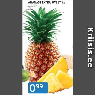 Allahindlus - ananass