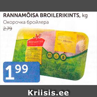 Allahindlus - RANNAMÕISA BROILERIKINTS, kg