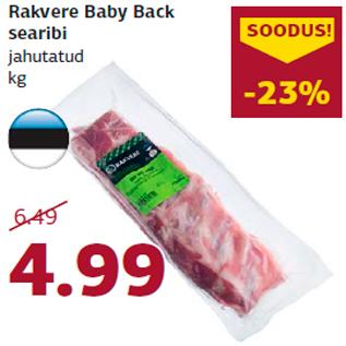 Allahindlus - Rakvere Baby Back searibi