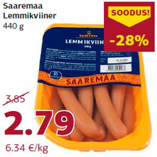 Allahindlus - Saaremaa Lemmikviiner 440 g