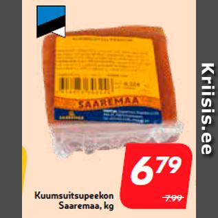 Allahindlus - Kuumsuitsupeekon Saaremaa, kg