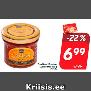 Allahindlus - Forellimari Premium Sudrablinis, 100 g