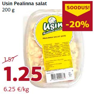 Allahindlus - Usin Pealinna salat 200 g