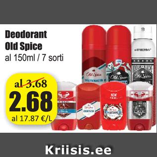 Allahindlus - Deodorant