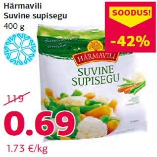 Allahindlus - Härmavili Suvine supisegu 400 g