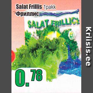 Allahindlus - Salat Frellis 1 pakk