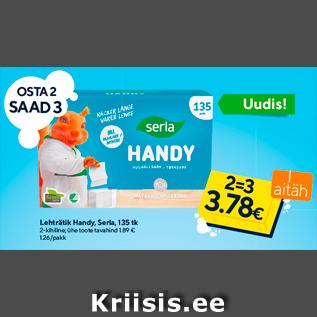 Allahindlus - Lehträtik Handy, Serla, 135 tk