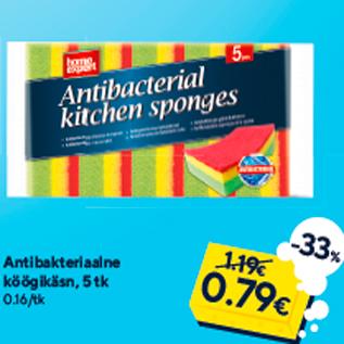 Allahindlus - Antibakteriaalne köögikäsn, 5 tk