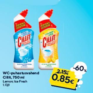 Allahindlus - WC-puhastusvahend Cillit, 750 ml