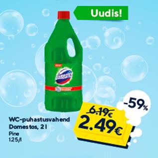 Allahindlus - WC-puhastusvahend Domestos, 2 l Pine
