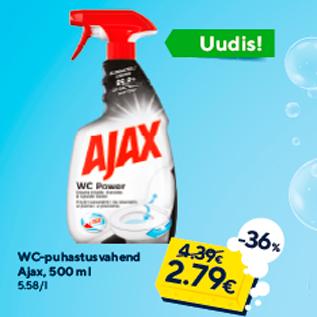 Allahindlus - WC-puhastusvahend Ajax, 500 ml