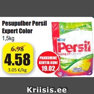 d188290bc5e Pesupulber Persil Expert Color 1,5kg - Allahindlus - Grossi ...
