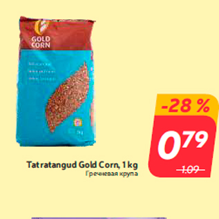 Allahindlus - Tatratangud Gold Corn, 1 kg