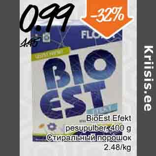 41d8633db6a BioEst Efekt pesupulber - Allahindlus - Säästumarket - Kriisis.ee ...