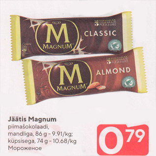 Allahindlus - Jäätis Magnum