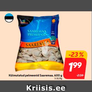 Allahindlus - Külmutatud pelmeenid Saaremaa, 600 g