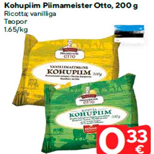 Allahindlus - Kohupiim Piimameister Otto, 200 g