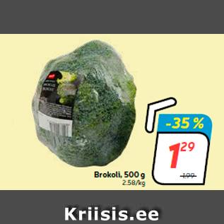 Allahindlus - Brokoli, 500 g