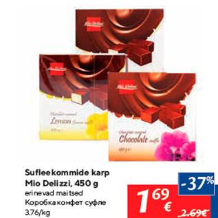 Allahindlus - Sufleekommide karp Mio Delizzi, 450 g