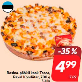 Allahindlus - Rosina-pähkli kook Tosca, Reval Kondiiter, 700 g