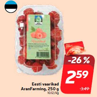 Allahindlus - Eesti vaarikad AranFarming, 250 g