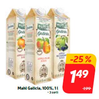Allahindlus - Mahl Galicia, 100%, 1 l