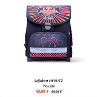 91db1199a76 Seljakott HERLITZ - Allahindlus - Maxima XX, XXX - Kriisis.ee ...