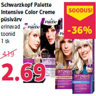 Allahindlus - Schwarzkopf Palette Intensive Color Creme püsivärv
