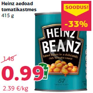 Allahindlus - Heinz aedoad tomatikastmes 415 g