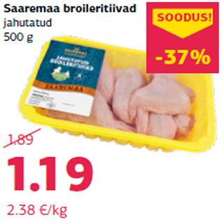 Allahindlus - Saaremaa broileritiivad